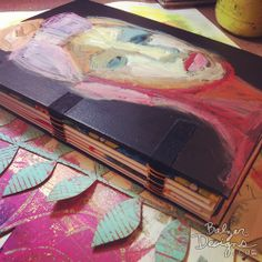 Art journal cover/binding