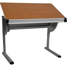 Flash Furniture 42.25 x 28.25 Professional Drafting and Hobby Craft Table