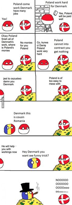 I'm Romanian and I find this very funny