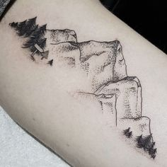 mountains tattoo