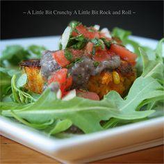 A Little Bit Crunchy A Little Bit Rock and Roll -- Sweet Potato Croquettes with Black Bean Sauce