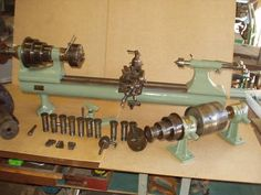 cool old Stark metal lathe