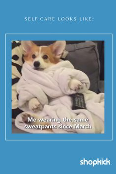Happiness is a warm pair of sweatpants! Did you even experience 2020 if your wardrobe didn't look like this on the daily? #sweatpants #selfcaresunday #itme