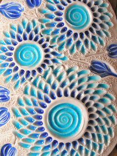 Porcelain wall piece. Close up detail www.facebook.com/mairi.stone.ceramics