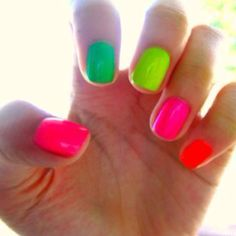 #Neon Nails
