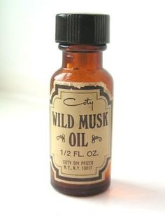 Coty Wild Musk Oil. OMG...the scent of the 70's. My first perfume!