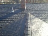 W Profile Valley Metal Installed In The Valleys With