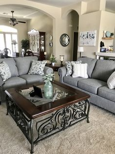 Living Room Decor Fireplace, Living Room Decor Cozy, Home Living Room, Living Room Designs, Condo Living, Home Decor Furniture, Home Decor Bedroom, Living Room Furniture, Master Bedroom