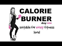 My TEDxTALK Video http:& Workout at home with this HIIT CARDIO workout, which helps with weight loss, increasing your calorie burn and feeling. Easy Workouts, At Home Workouts, Extreme Workouts, Toning Workouts, Fitness Exercises, Weekly Workouts, Cardio Hiit, Belly Exercises, Biceps