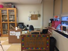Teachers corner #rainbowzebra #science #middleschooldecor #chicteacher