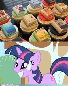 my little pony, friendship is magic, brony - Twilight's Favorite Cupcakes