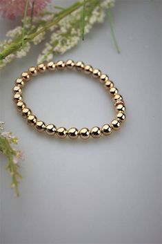 Sima-polodrahokamy / hematit náramok vo farbe ružové zlato Bracelets, Gold, Jewelry, Colors, Bangles, Jewlery, Jewels, Bracelet, Jewerly