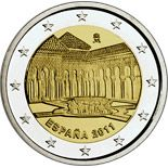 2 euro UNESCO: Alhambra in Granada - 2011 - Series: Commemorative 2 euro coins - Spain