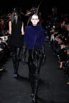Ann Demeulemeester Fall 2012 Ready-to-Wear - Collection - Gallery - Style.com