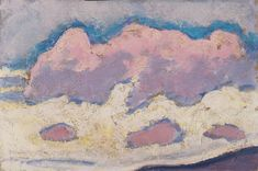 Study of Clouds by Koloman Moser- 1914 ☁