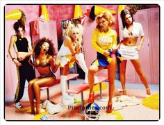 Spice Girls Fashion  #Spice #Girls #Fashion