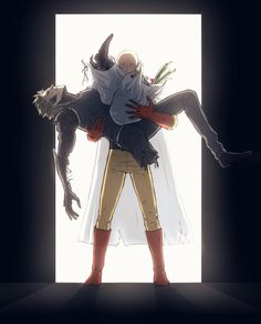One Punch Man - Saitama x Genos - Saigenos Saitama One Punch Man, Anime One Punch Man, One Punch Man 3, One Punch Man Funny, Saitama Sensei, Genos X Saitama, Caillou, Caped Baldy, Manga Anime