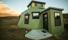 "Nevada-based company, Envirohaven, is offering beautiful, custom-made ""eco havens"" that can be constructed in just a few days, and without a crane."