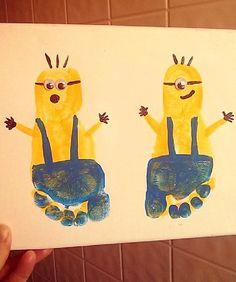 minion footprint craft