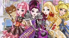 Ever after high trhonecoming