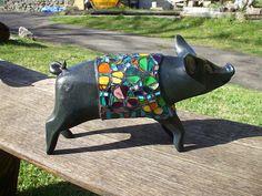 Mini pig: Pig in Clover version, II   Flickr – 相片分享!