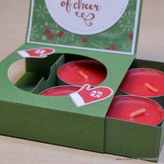 JanB Handmade Cards Atelier: Perfumed Tealights' Gift Box Video