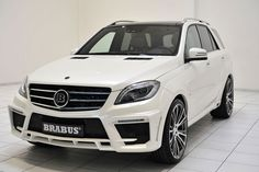 Mercedes-Benz ML 63 AMG by #BRABUS (B63S – 700 WIDESTAR) #mbhess #mbcars #mbtuning