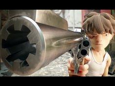 "CGI Animated Short HD: ""The Chase""  by - Tomas Vergara....... 13 minutes long...."