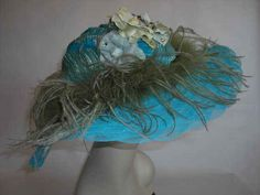Beach Blue Kentucky Derby Hat