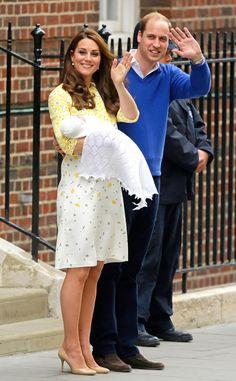 A primeira foto oficial da filha de Kate Middleton e príncipe William
