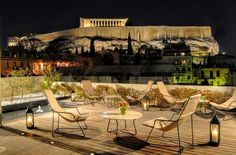 The Herodian Hotel near the Acropolis in Athens