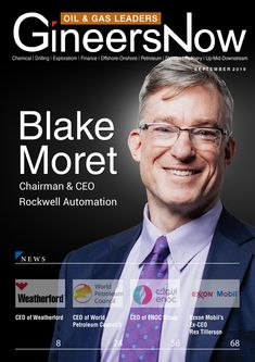 Rockwell Automation, Rex Tillerson, Improve Productivity, Information Technology, Oil And Gas, Decision Making, Business Opportunities, Leadership, Innovation
