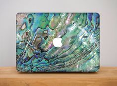 Abalone Shell Sea Ocean Hard Plastic Case For Macbook 12 Pro Retina 15 Air 11 13