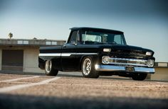 Chevy trucks aficionados are not just after the newer trucks built by Chevrolet. They are also into oldies but goodies trucks that have been magnificently preserved for long years. 1966 Chevy Truck, Classic Chevy Trucks, Chevrolet Trucks, Chevrolet Parts, Chevy Classic, 1957 Chevrolet, Chevrolet Impala, Classic Cars, C10 Trucks