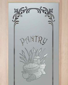Charmant Apple Pie Pantry Door   Etched Glass Designs Galore That You Customize!