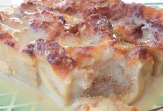 Bread Pudding with Vanilla Cream Sauce Fudge Recipes, Crockpot Recipes, Cake Recipes, Dessert Recipes, Cooking Recipes, Jello Recipes, Almond Recipes, Soup Recipes, Desert Recipes