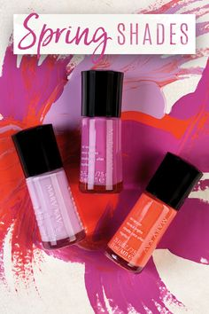 Let your nail art shine with fun spring shades! We're inspired by gorgeous purples and vibrant oranges this season.   Mary Kay