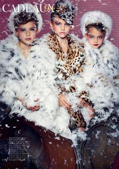Cadeaux by Sharif Hamza for Vogue Paris Dec:Jan 2011 -1