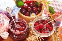 Κεράσι κομπόστα Greek Sweets, Chocolate Fondue, Deserts, Cherry, Food And Drink, Fruit, Vegetables, Recipes, Postres