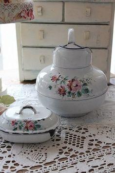 Vintage enamelware