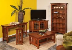 Great looking collection of Mission Style Furniture!