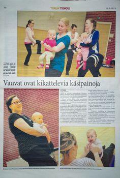 Perheet ja perheiden hyvinvointi ovat minulle tärkeitä asioita. Liikunta ja vertaistuki kohtaavat Tanssitan vauvaa -ryhmässä, jonka vetäjänä toimin. MLL Littoisten Tanssitan vauvaa ryhmätoiminta sai palstatilaa myös paikallislehdestä.