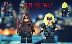 LEGO CW : Arsenal and Black Canary | by MGF Customs/Reviews