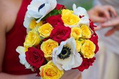 #Vintage #Circus #Themed #Wedding #KeyWest #Hemingway #House #keywest #bouquet #flowers