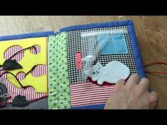 Handmade interactive book for kids
