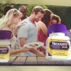 14 day treatment for frequent heartburn #Nexium24HR I received this free bottle for review. :)