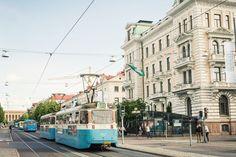 The main street Avenyn in Gothenburg, Sweden.
