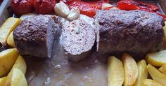 Martina Ziehl mit Pampered Chef: Falsche Rinderroulade mit Kartoffeln und Gemüs… Martina Ziehl with Pampered Chef: Wrong beef roulade with potatoes and vegetables from the big oven wizard Beef Roulade, Chefs, Chef Shop, Baking Secrets, Baked Vegetables, Western Food, Party Finger Foods, Food Hacks, Mexican Food Recipes