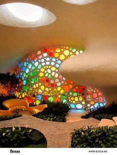 CONCEPTO.- Arquitectura organica.- arquitectura que su proposito es tener armonia entre el humano y la naturaleza.
