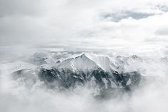 Alps by Akos Major, via Behance